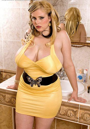 Nude blonde bbw